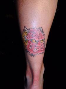 鬼 oni tattoo