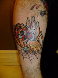 蜘蛛 Spider tattoo