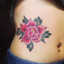 牡丹 Peony tattoo