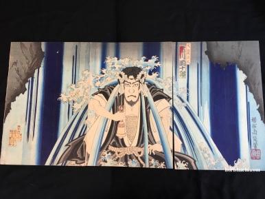 揚州周延 文覚上人 1883 Chikanobu/Mongaku Shonin/1883 #浮世絵#木版画#錦絵#ukiyoe#woodblockprint#meiji